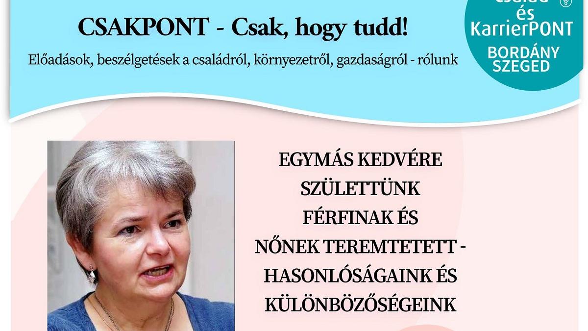 CsakPont - Pécsi Rita: Egymás kedvére születtünk