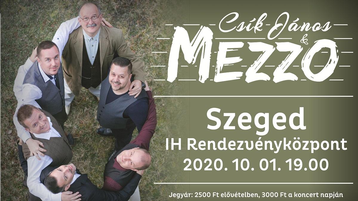 Csík János és Mezzo koncert