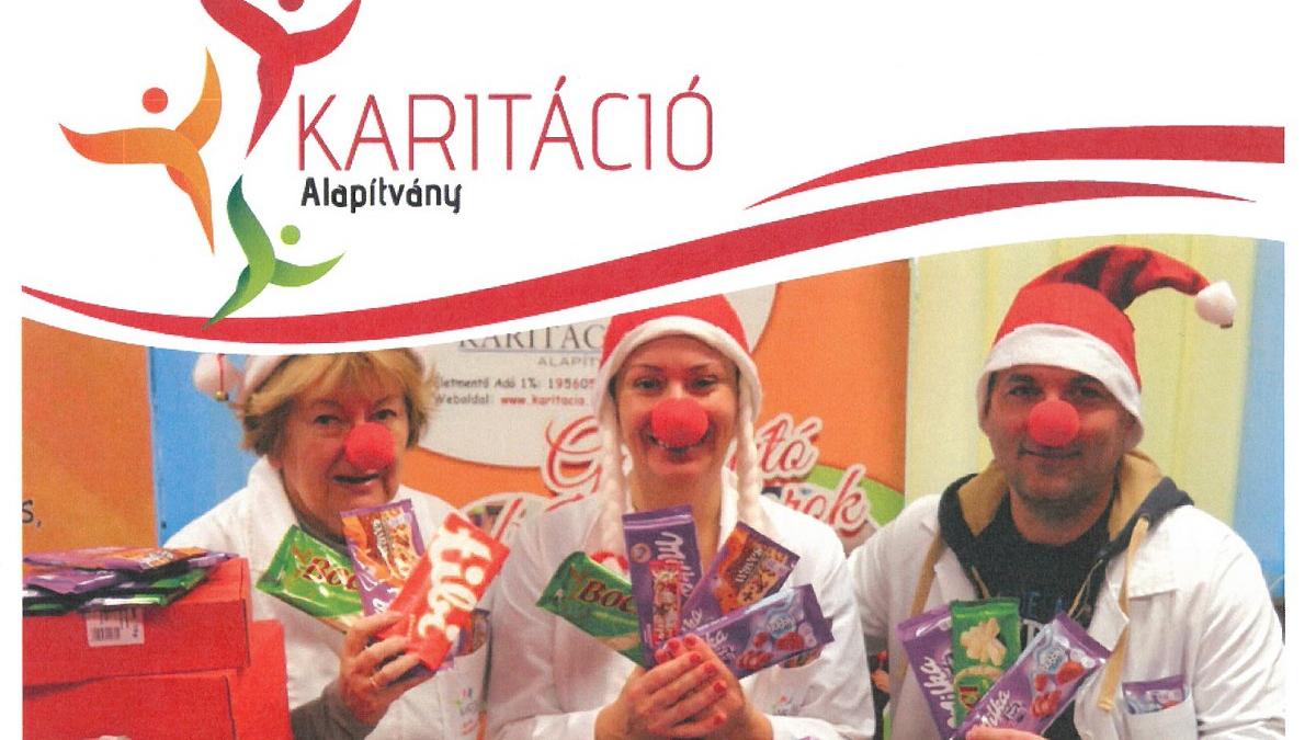 Csokigyűjtés - Karitáció Alapítvány