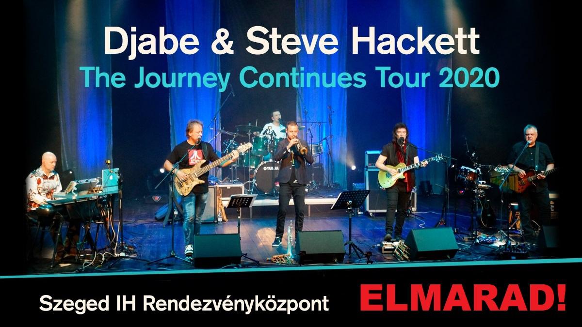 !ELMARAD! - Djabe & Steve Hackett Tour