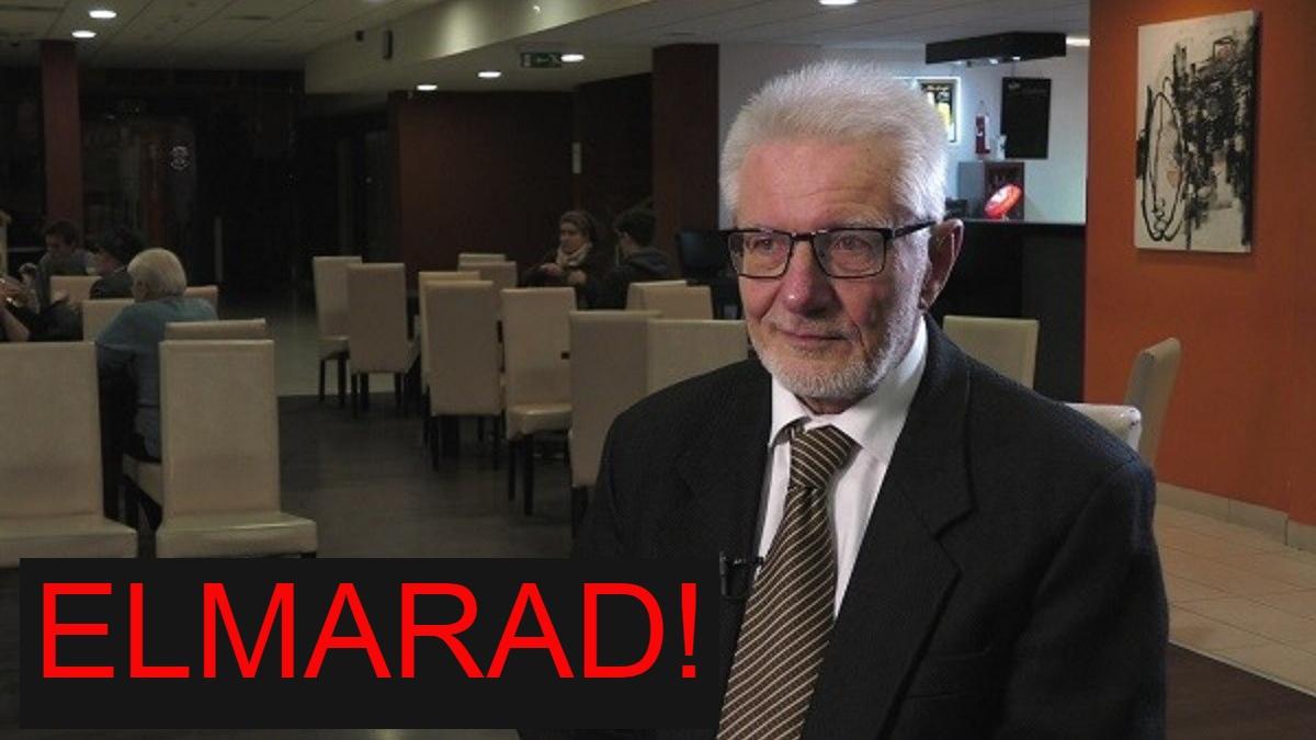 ELMARAD PROF. DR. DUDA ERNŐ ELŐADÁSA!