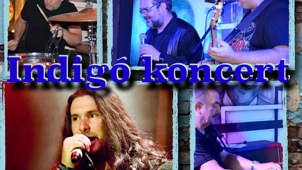 Indigó koncert – vendég: Gamsz Árpád - IH Café