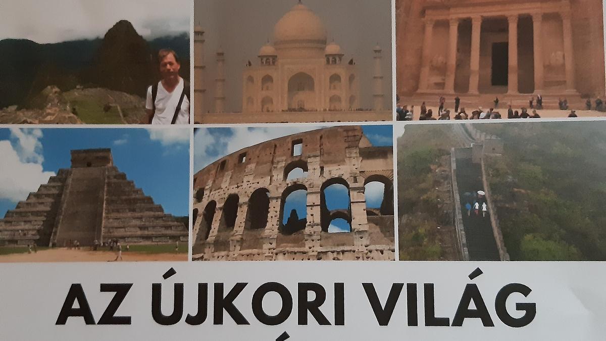 Jankó György: Az újkori világ 7 építészeti csodája - Tisza terem