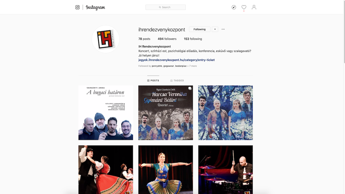 Kövess minket instagramon is!