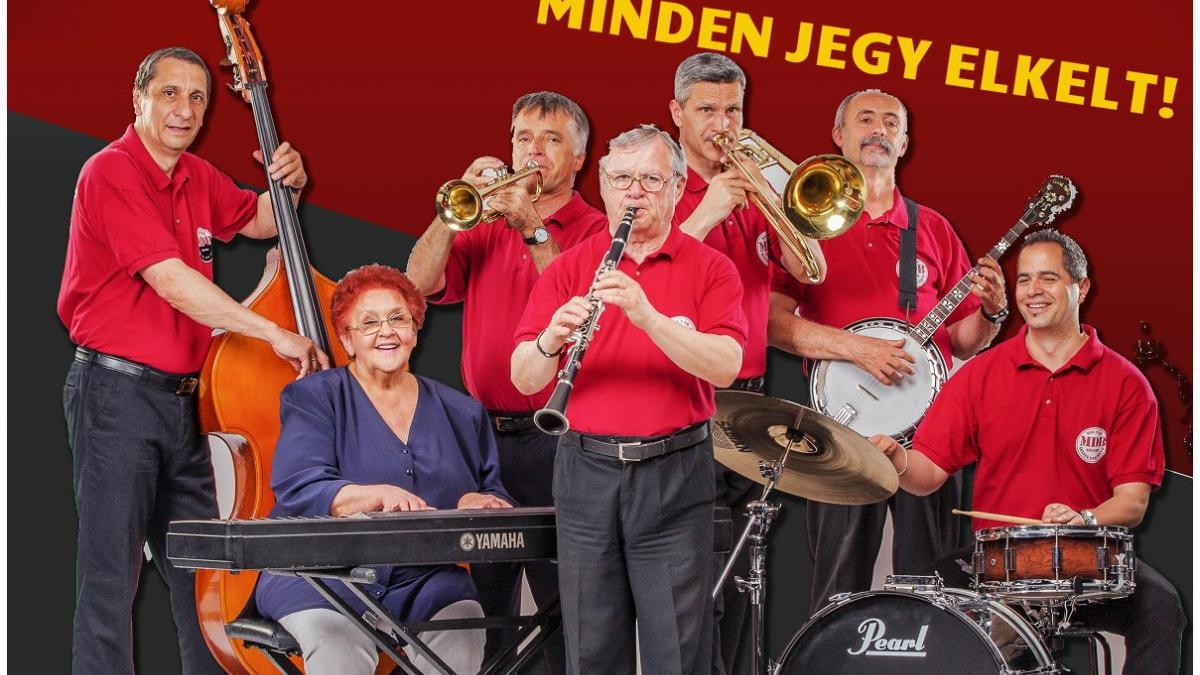 Molnár Dixieland Band koncert– IH Café