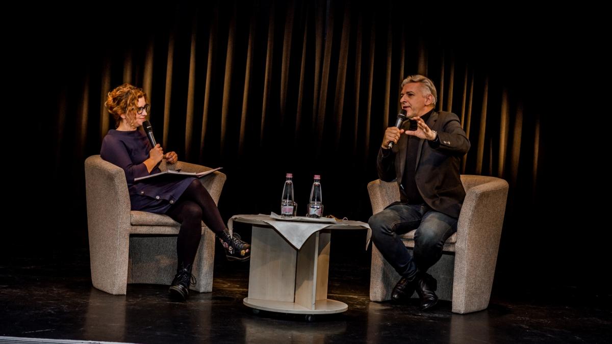 Palladium Nyári Este: ALFÖLDI RÓBERT & VEISZER ALINDA pódiumbeszélgetés