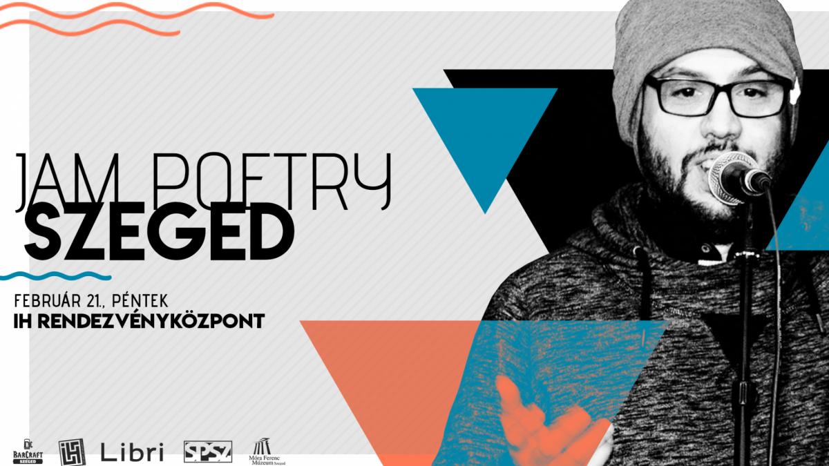 Jam Poetry Szeged - Februári Klub/Sárközi Richárd & Zeninjam